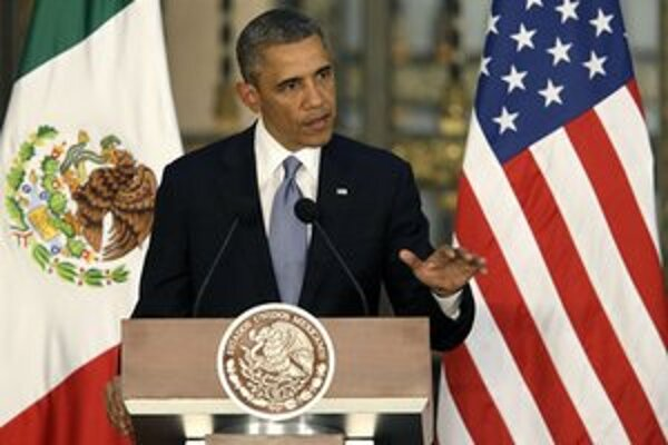 Obama navštívil Mexiko.