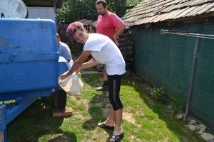 Marieta Kelementová veľmi dobre vie, aké je to šetriť vodou. V domácnosti sa zbytočne nemôže minúť ani kvapka pitnej vody.
