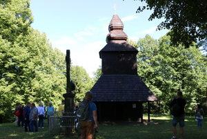 Chrám v Ruskej Bystrej.