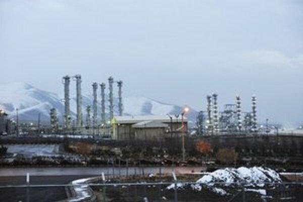 Iránske jadrové zariadenie v meste Arak.