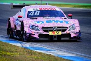 Mercedes-Benz triedy C v DTM.