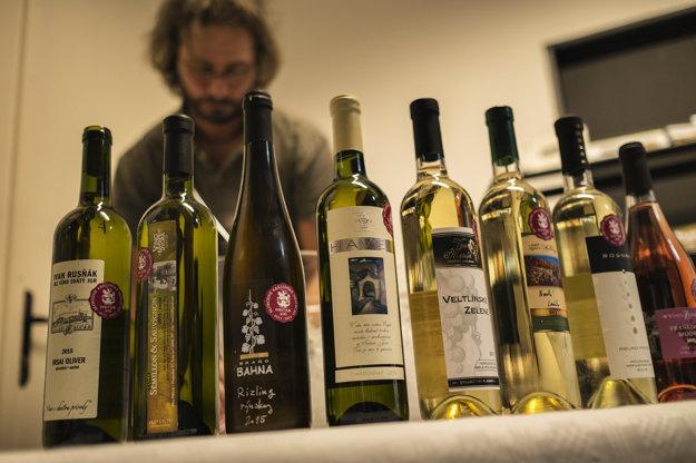 Ponuka miestnych vín