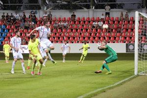 Róbert Gešnábel strelil gól v oboch domácich zápasoch FC ViOn v tejto sezóne.