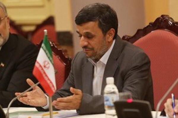 Iránsky prezident Mahmúd Ahmadínedžád.