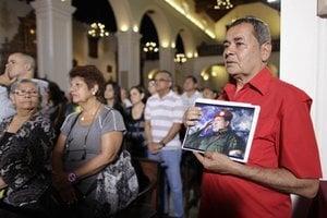 Venezuelčania sa modlia za Chávezovo uzdravenie.