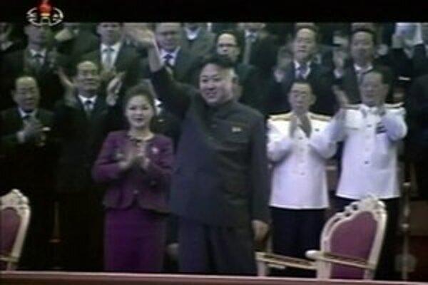 Na záberoch z 1. januára je severokórejská prvá dáma výrazne chudšia ako z polovice decembra 2012.