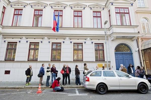 České veľvyslanectvo v Bratislave.
