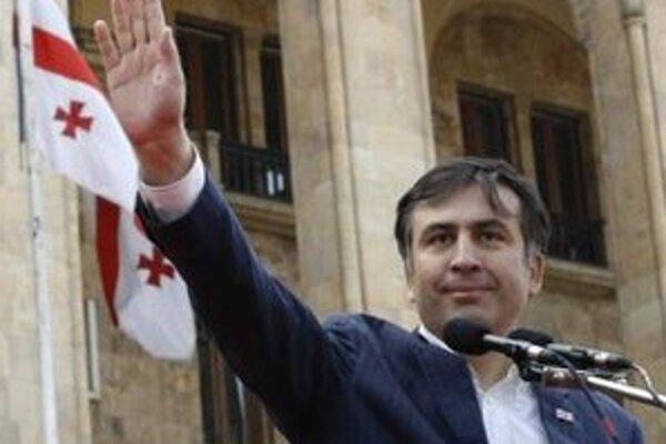 Gruzínsky prezident Michail Saakašvili.