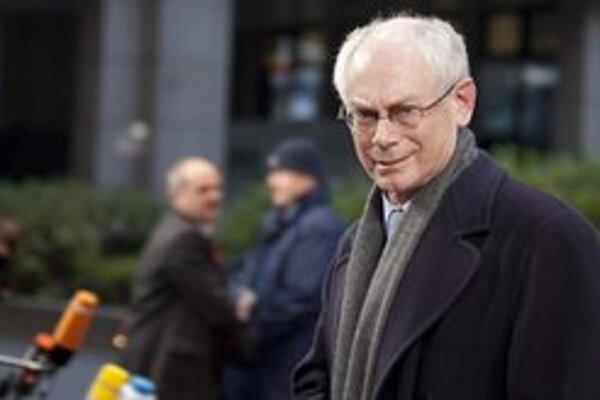 Stály predseda Európskej rady Herman Van Rompuy.