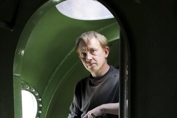 Majiteľ ponorky a konštruktér Peder Madsen.