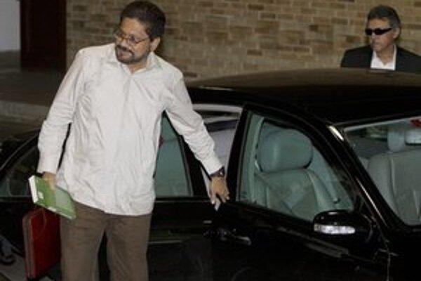 Vyjednávač FARC Ivan Marquéz.