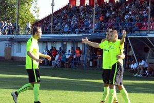 Jediný gól včera v Seredi strelil Adam Morong. Ďalšie šance zostali nevyužité.