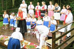 Predstavili sa aj deti z Pucova.