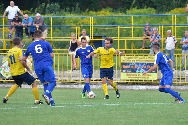 O jediný gól Rožňavy vSnine sa postaral M. Gallo ml.