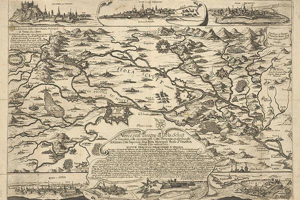 Mapa Žitného ostrova (1683–1700)