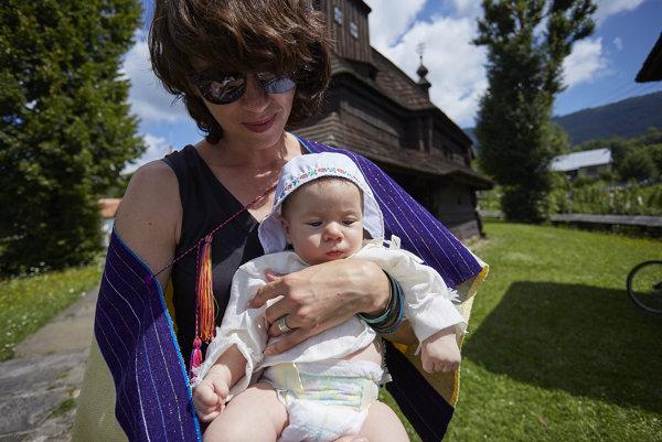 Lucia Nimcová so synom Nikom.