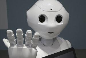 Humanoidný robot Pepper.