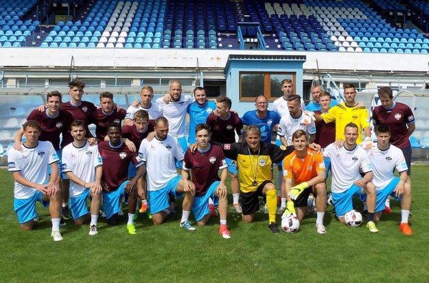 Za výkon v Slovnaft Cup-e ho tréner Galád pochválil.