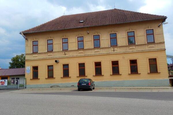 Škôlka v Bobrovci.