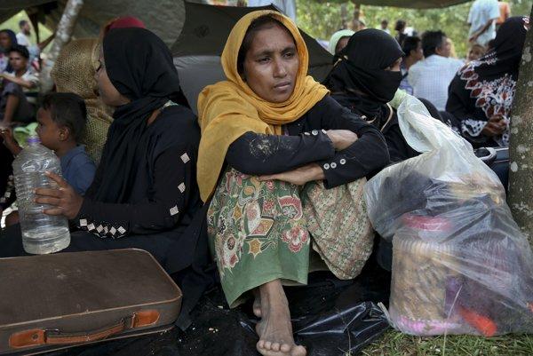 Etnicky motivovanénásilnosti zapríčinili exodus asi 700-tisíc príslušníkov moslimského etnika Rohingov do susedného Bangladéša.