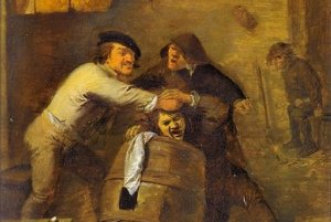 V stredoveku sa najmä v opitosti spory riešili bitkou.