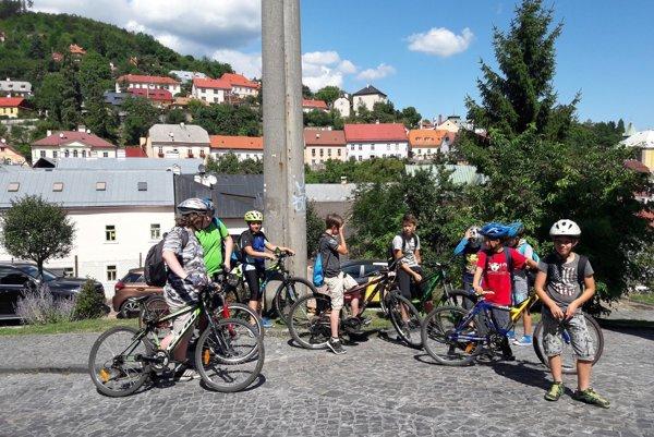 Na bicykloch prišli až do Banskej Štiavnice.