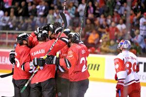 Hokejisti Banskej Bystrice sa prvý raz v tohtoročnej Lige majstrov tešili z víťazstva.
