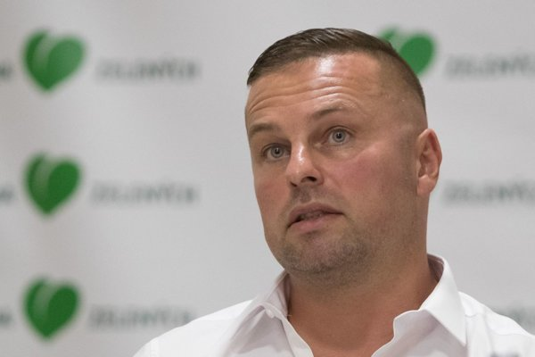 Krajský predseda Strany zelených Marek Mališ.