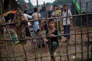 Utečenecký tábor Rohingov v Bangladéši.