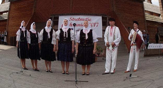 Vystúpenie FS Dedovanka.