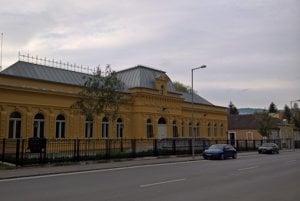Budova Baníckeho múzea vRožňave.