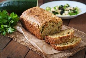 Cuketový chlieb so syrom