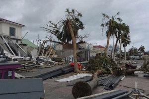 Hurikán Irma ostrov Svätý Martin výrazne zničil.