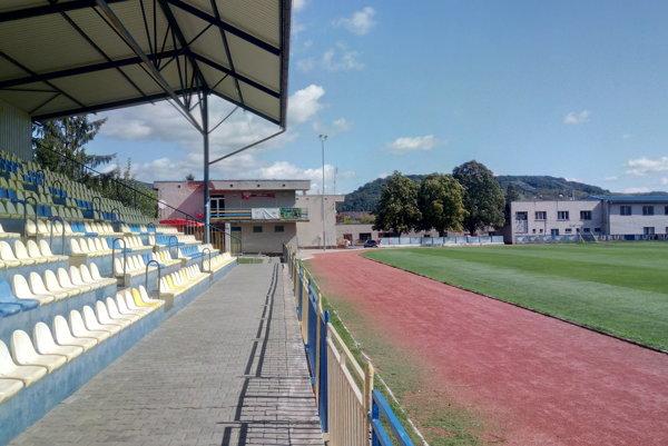 Športový areál vo Fiľakove.
