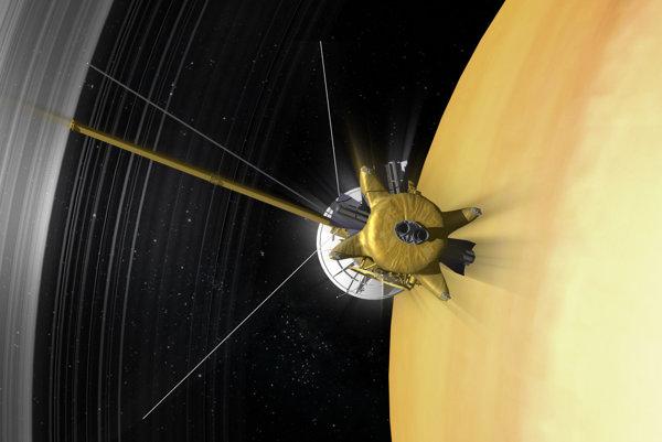 Sonda Cassini preruší kontakt so Zemou v piatok o 13:55 nášho času.