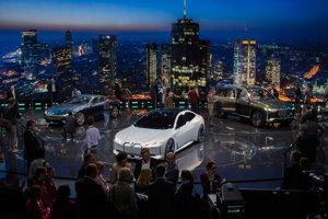 Tri koncepty BMW vystavené na Autosalóne vo Frankfurte.