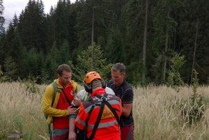 Včera dopoludnia prijala Horská záchranná služba Kysuce prostredníctvom tiesňovej linky 155 oznámenie o silnej alergickej reakcii hubára.
