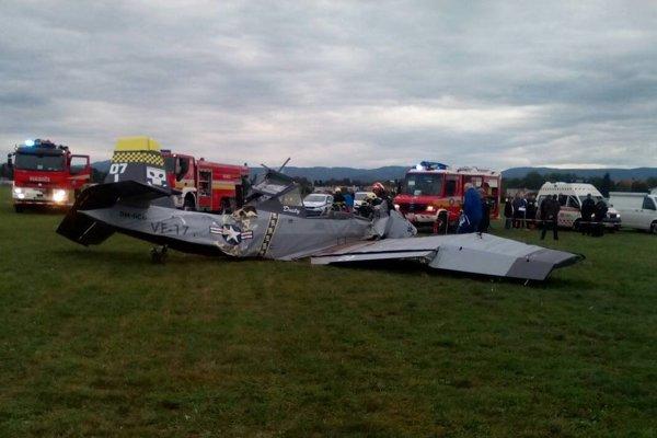 Lietadlo havarovalo na prievidzskom letisku.