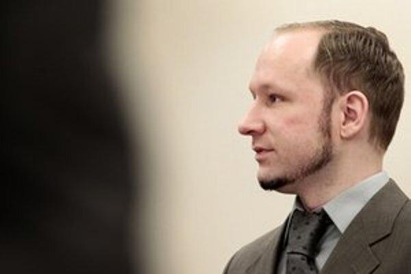 Anders Breivik pred súdom.
