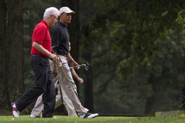 Spoločne na golfe.