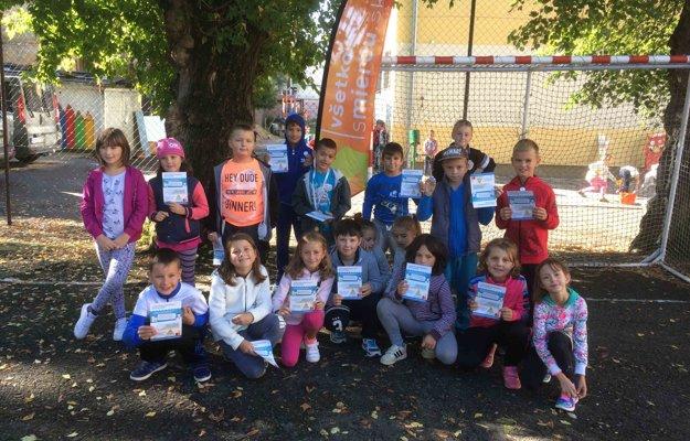 Školáci zo ZŠ M. R. Štefánika v Lučenci zistili, že pohyb je dôležitý.