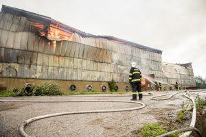 Požiar v Trnovci.
