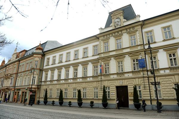 Ústavný súd SR v Košiciach.