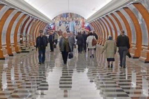 Zastávka Parku víťazstva v moskovskom metre.