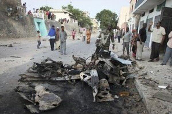 Útoky v hlavnom meste Somálska sú pomerne časté.