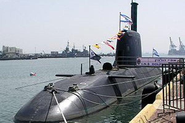 Ponorka triedy Dolphin.