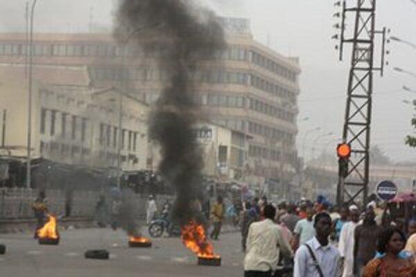 V uliciach Bamaka.