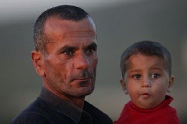 Sýrski utečenci v Turecku.