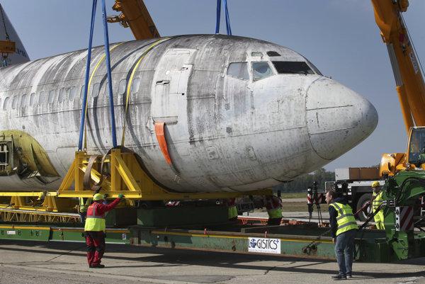 Teroristami unesený Boeing sa vrátil do Nemecka