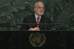 Iracký minister zahraničných vecí Ibráhím Džaafarí.